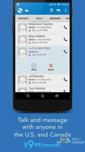 line2 android- vycibrené linky