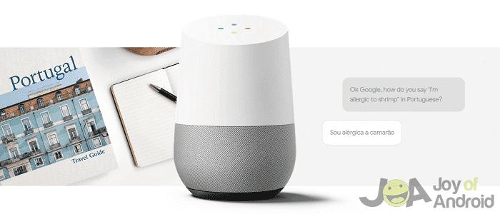napríklad problémy s domovom google