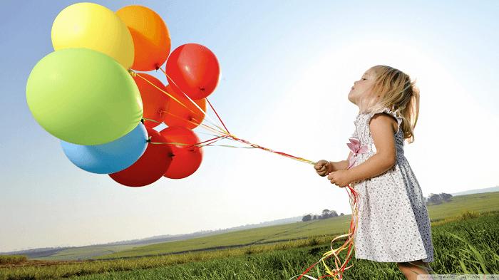 Farebné balóniky