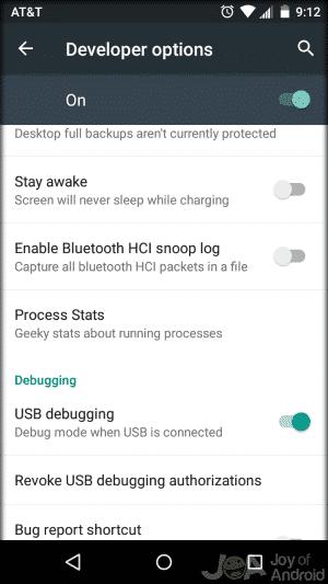 USB ladenie S6 Aktívny koreň