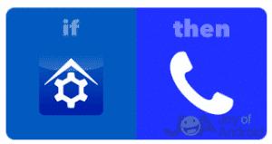 Ak Potom zavolajte na IFTTT Domov