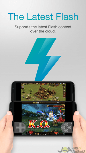 flash player puffin2 pre android