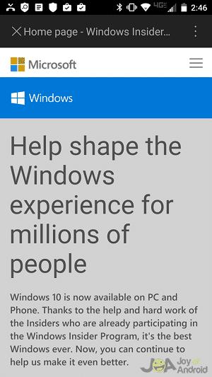 Windows  Zasvätený