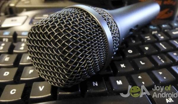 počítačový mikrofón