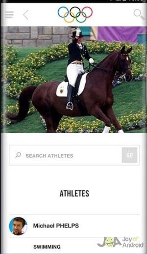 Olympijská aplikácia