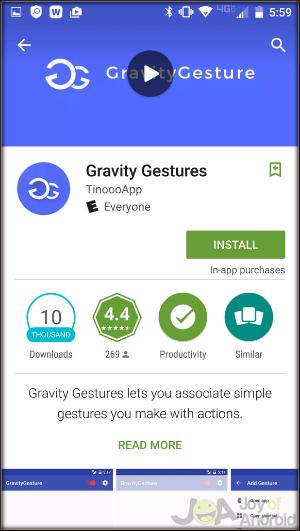 Nainštalujte Gravitáciu