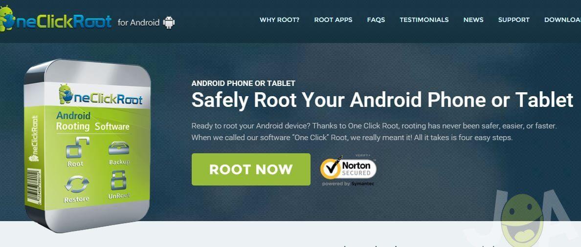 Root jedným kliknutím