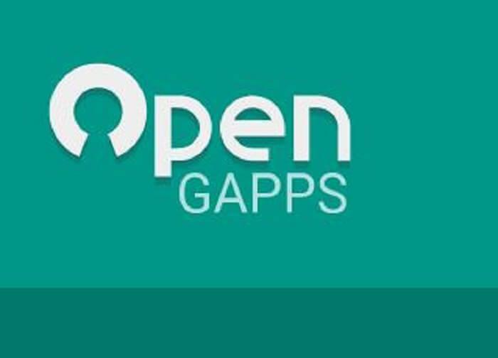 Otvorte Gapps