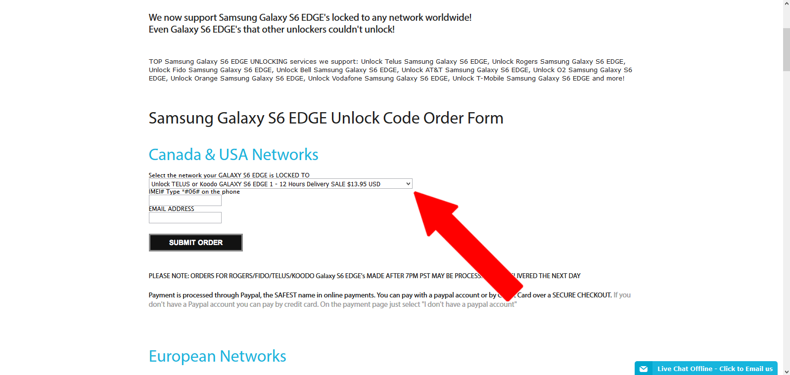 samsung-code-source-network-selection