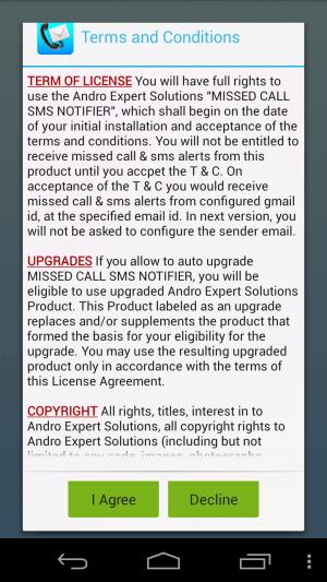 Dohoda o upozornení na SMS-hovor