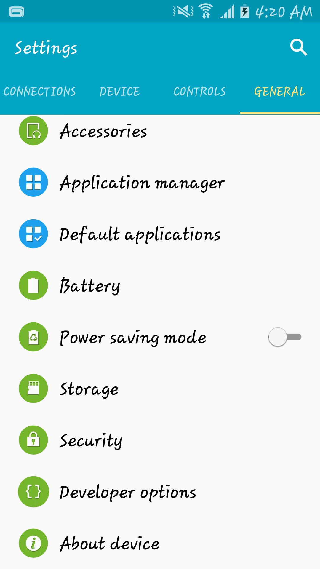 Prijímať aktualizácie systému Android