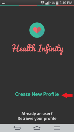Ahoj profil sledovania zdravia