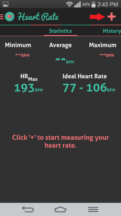 Ahoj srdcový tep sledovača zdravia