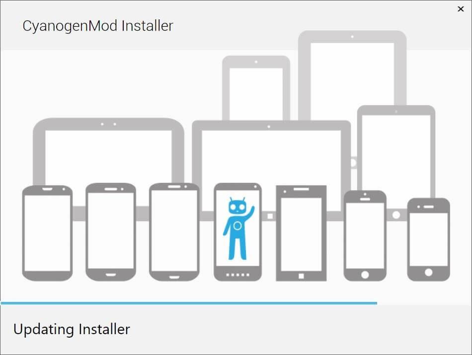 aktualizácia cyanogenmod