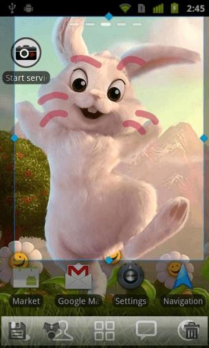 úprava snímky obrazovky