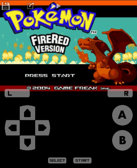 úvodná obrazovka pokémona