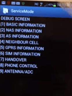 ladiaca obrazovka