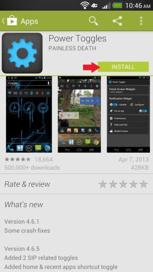 Inštalácia Google Play