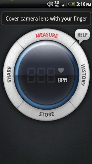 Ponuka okamžitej srdcovej frekvencie