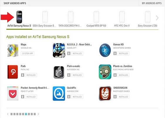 Zariadenia Google Play