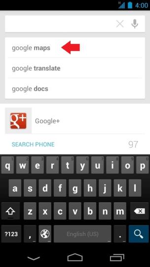 Podmienky vyhľadávania Google