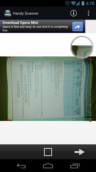 Praktický orezávač skenera