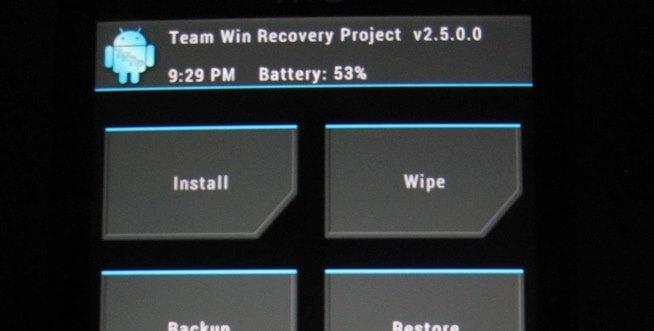 Nainštalujte bootloader SuperSU