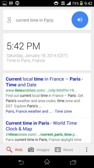 Aktuálny čas v Paríži