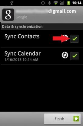 Synchronizujte kontakty Google
