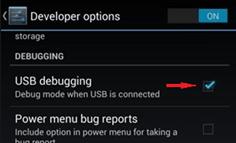 ladenie USB