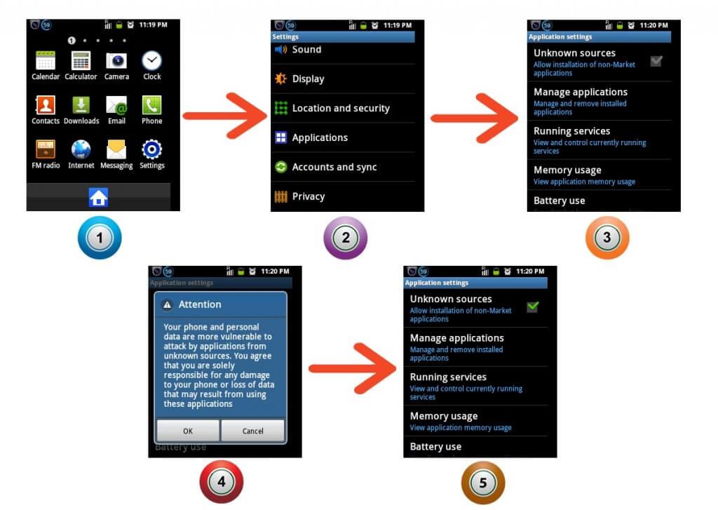 Ako povoliť inštaláciu aplikácií tretích strán na telefónoch Android