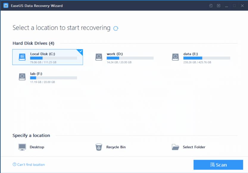 obnoviť zmazané súbory