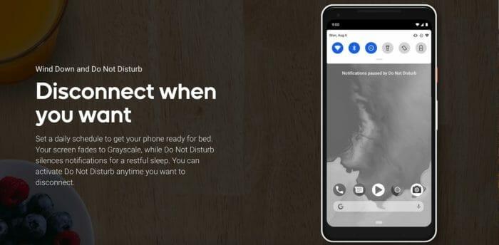 Android Pie Likvidácia a nerušiť