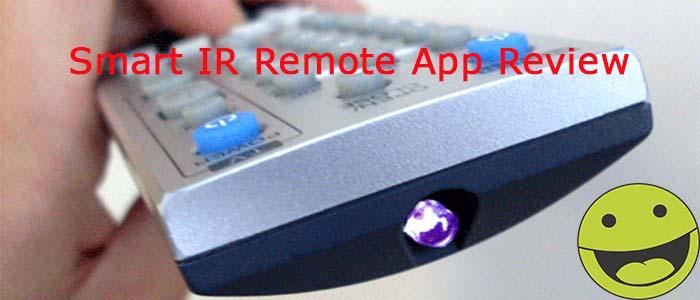 Kontrola aplikácie Smart IR Remote