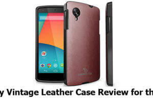 Caseology Vintage Leather Case review