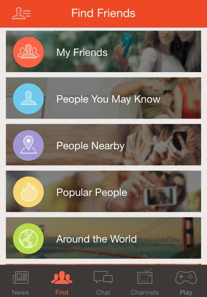 veľa spôsobov, ako nájsť priateľov