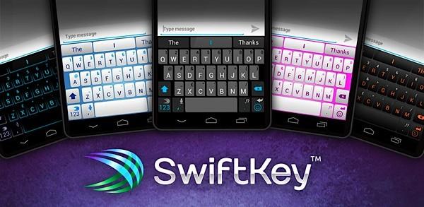 Klávesnica Swiftkey pre Android - možnosti motívu