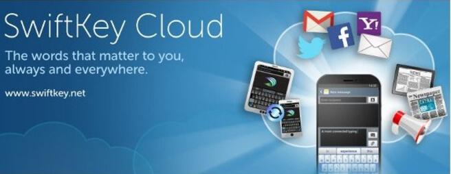 Klávesnica Swiftkey pre Android - Swiftkey Cloud