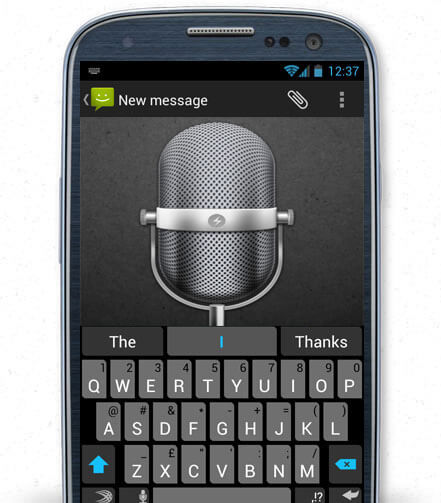 Klávesnica Swiftkey pre Android - hovorte s klávesnicou