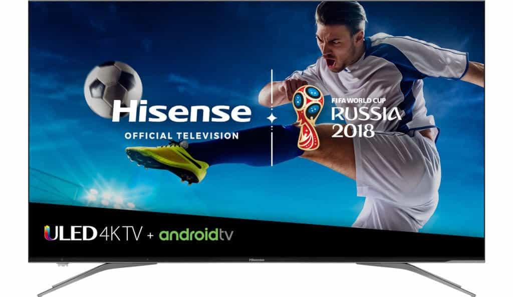 """Hisense 2018, model 65 """", trieda H9100E Plus (64.5""""diag.) 4K UHD Android TV"""
