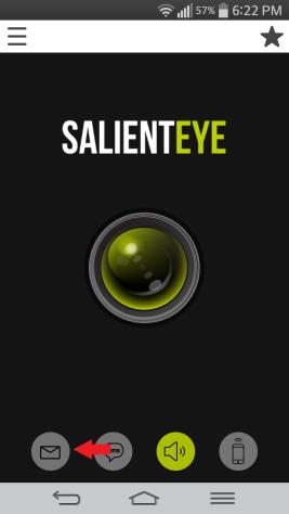 E -mail SalientEye Home Security