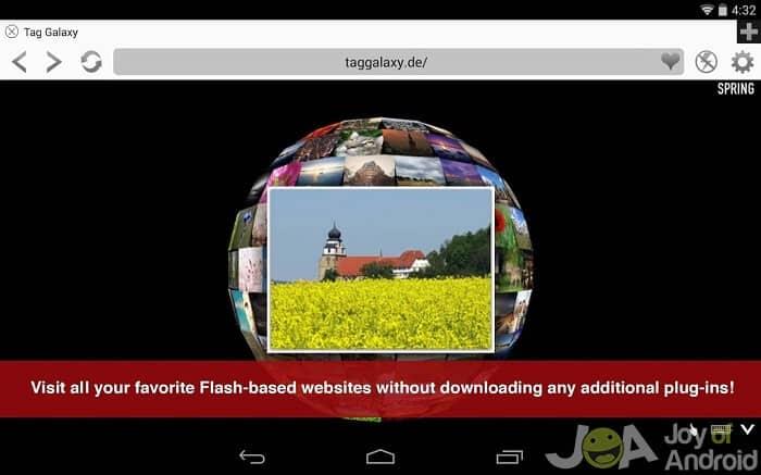 flash prehrávač photon1 pre Android