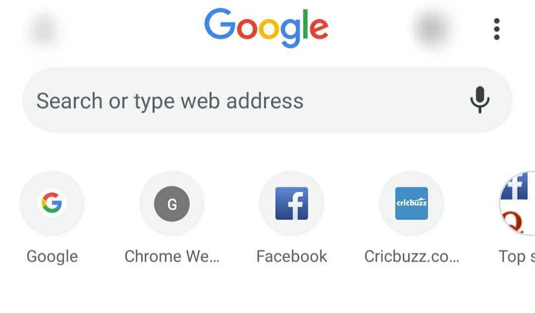 Ako rýchlo odstrániť skratky z domovskej stránky Google [SOLVED] 1