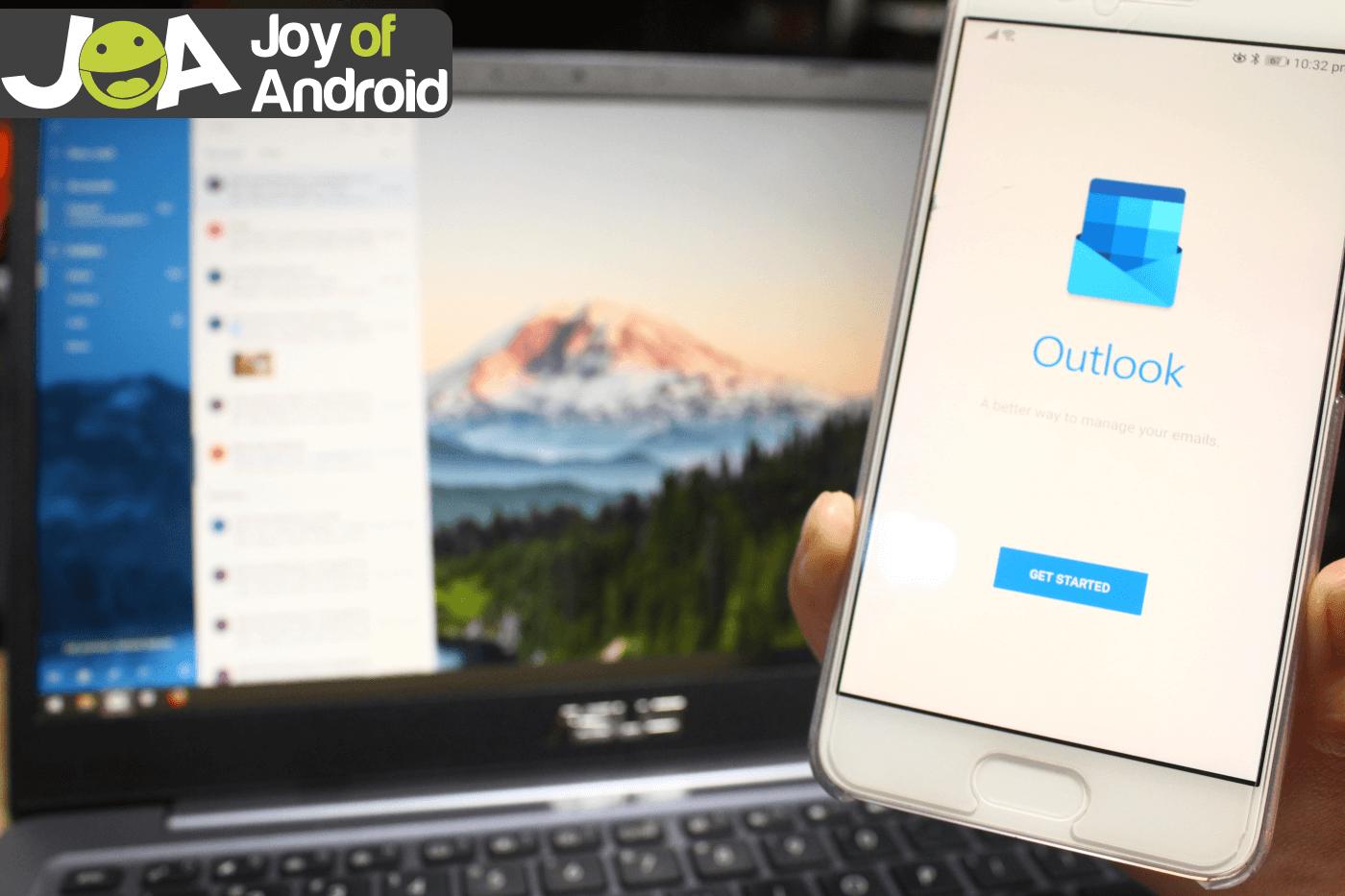 Ako synchronizovať aplikáciu Outlook s Androidom - synchronizujte kontakty, kalendár a e -mail 1