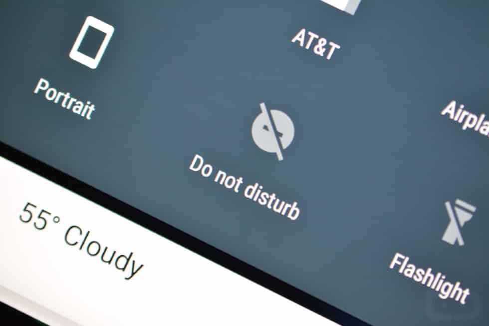 V systéme Android prepnite možnosť Nerušiť