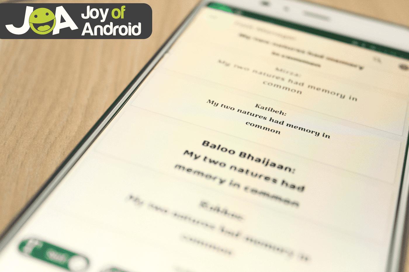 Ako zmeniť písmo na telefónoch Android [3 Methods] 1