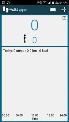Aplikácia WalkLogger Pedometer - 028