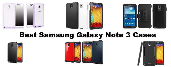 Najlepší Samsung Galaxy Poznámka 3 Prípady: Dokonalá ochrana phabletov 1