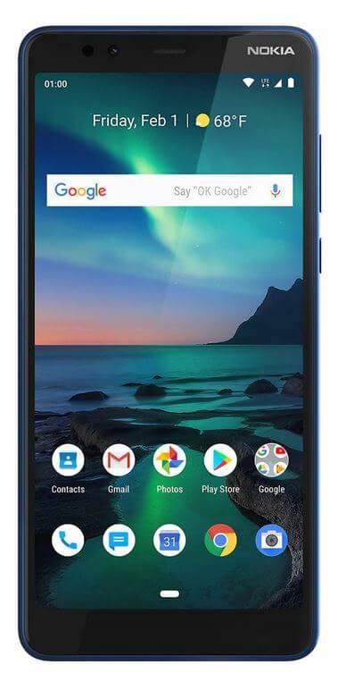 Najlepší kriketový bezdrôtový telefón - Nokia 3.1 Plus