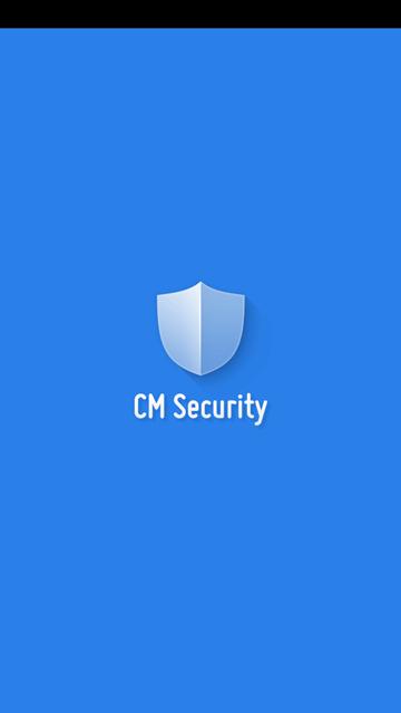 CM Security Antivirus a AppLock - úvodná obrazovka
